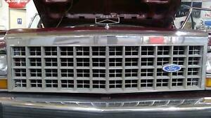 83 91 Ford Ltd Country Squire Wagon Oem Chrome Grille Assembly