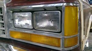 83 91 Ford Ltd Country Squire Wagon Driver Left Headllight Lamp Assembly Oem