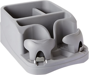 Universal Car Floor Console Seat Storage Organizer Box Cup Holder Rv Auto Truck
