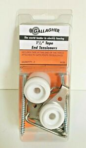 Gallagher 1 5 Tape End Tensioners 2pack Electric Fence Farm H120 Horse Animals
