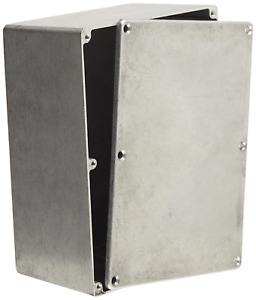 Die Cast Aluminum Enclosure Electronics Project Box Case Metal 6 5 X 5 X 4 In