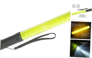 Diskpro 14 5 Inch Traffic Baton Light 18 Yellow Led With Two Flashing Modes
