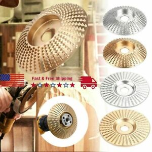 New Carbide Wood Sanding Carving Shaping Disc For Angle Grinder Grinding Wheel