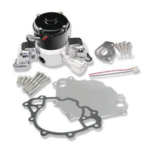 For Sbf 289 302 351w Aluminum Electric Water Pump Chrome Powder Coating
