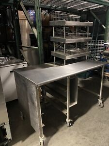 30 x60 Stainless Steel Table workstation