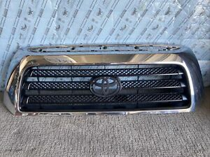 2007 2008 2009 Toyota Tundra Grille Front Upper Chrome Used Oem 448064