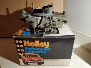 Vintage Holley 780 Cfm 4bbl Model 3310 2 Carb With Vacuum Secondaries Box