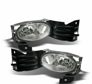 For 2008 2010 Honda Accord Coupe Driving Fog Lights Lamps Right left Set Pair