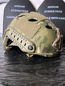 Ops Core Fast Carbon Multicam Helmet L size worldwide shipping $820.00
