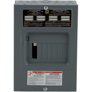 Breaker Box Main Lug Load Center 100 Amp 8 space 16 Circuit Indoor Surface Mount