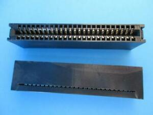 2 Pack 50 Pin Ide Card Edge Connector Ide50 For Ribbon Cable Page Winchester