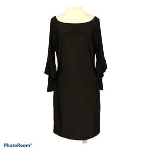 Frank Lyman Cocktail Party Dress Style 179004 Black Womens 10 US Made in Canada $89.10