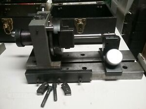 Harig Grind All 1 Unidex 5c Base Plate Tailstock With Rail And Cases