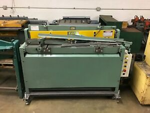 Demo 52 16 Gauge Enco Tennsmith Hydraulic Sheet Metal Shear