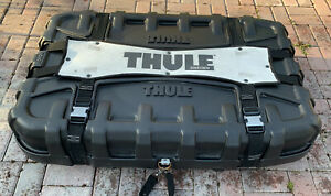 Thule Rooftop Cargo Carrier Box 46x31x11black Pick Up Only