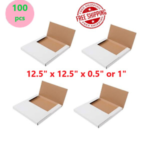 100 12 5 x12 5 x 0 5 1 Lp Premium Record Album Mailers Book Box Variable Dept