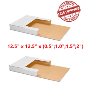 100 12 5 x12 5 x 0 5 1 1 5 2 Lp Premium Record Album Mailers Book Box Varia