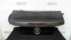 14 Ford Mustang Rear Trunk Decklid Assembly Gray And Black Tail Finish Panel Fits Mustang