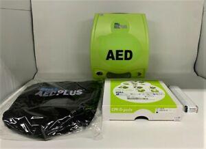 Zoll Aed Plus Semi automatic New Open Box Never Used New Expiration Date