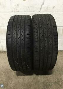 2x P225 45r17 Continental Contiprocontact 9 32 Used Tires