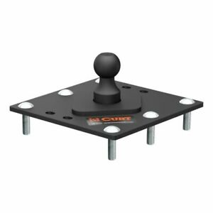 Curt 61100 Over Bed Fixed Ball Gooseneck Hitch 30 000 Lbs 2 5 16 Inch Ball New