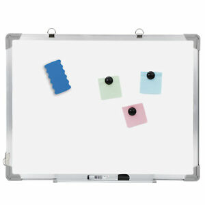Dry Erase White Board Wall Hanging Board Magnetic Whiteboard 18 X 24