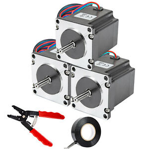 Vevor Nema 23 Stepper Motor 178 5 Oz in 2 8a 57x56 Mm High Torque For 3d Printer