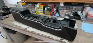 1969 70 Mustang Console custom Vinyl lights Cup Holder 12v Charge Ports Cubby