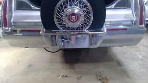 93 96 Cadillac Fleetwood Oem Chrome Rear Bumper With E g Continental Kit