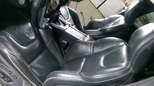 15 18 Volvo S60 Polestar Leather Seat Set Front Rear Black 3t60 Power Heated