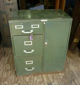 Vintage Steelmaster Military File Cabinet Safe Combo Local Pick Up Only 21d003