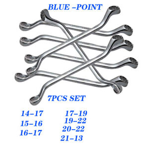 Blue Point 45 Offset Double Ring Wrench Set 7pcs