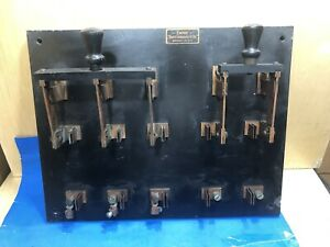 Knife Switch 100 Amp Vintage 1920s Brooklyn Navy Yard Sound Amplifiers Room