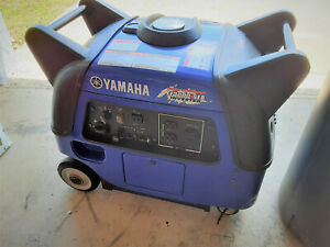 Yamaha Ef3000iseb Inverter Generator Electric Start 110v Extremely Quiet