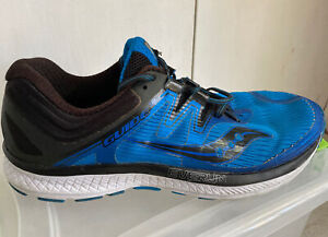 Saucony Men s Guide Iso Everun S20415 2 Running Blue Black Shoes Size 11