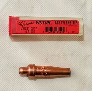 Victor 4 3 101 Acetylene Cutting Torch Tip Cst800 Ca1350 Ca1260 Made In Usa