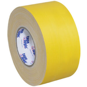 3 X 60 Yds Yellow Tape Logic 11 Mil Gaffers Tape 3 Pack