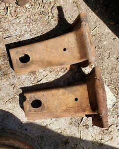 1960 1961 1962 Chevy Truck Cab To Frame Brackets C10 Apache Chevrolet Gmc