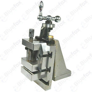 Lathe Vertical Slide 4 X 5 With Toolmaker s Grinding Vice Vise 2 3 8