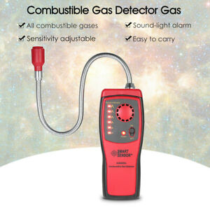 As8800l Mini Combustible Gas Detector Gas Leakage Location Determine Tester O5b3