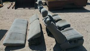 Seats Extended Cab All Superduty Ford Truck F250 F350 1999 10 2004 99 01 02 03