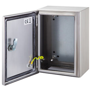 Vevor 12x10x6 Stainless Steel Electrical Box Nema 4x Electrical Enclosure Ip65
