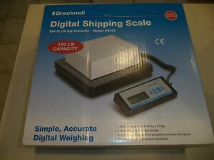 Brecknell Heavy Duty Digital Shipping Postal Scale For Packages 150 Lb Capacity