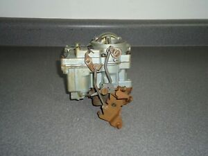 Rebuilt Rochester Carburetor 1957 1958 Oldsmobile J2 371 Tri Power Center Carb