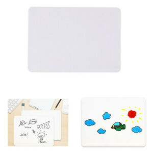 Small Whiteboard Writing Drawing Dry Erase Board School Office Message Board