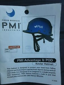 PMI KEVLAR HELMET Made with kevlar fire rescue utility $145.00
