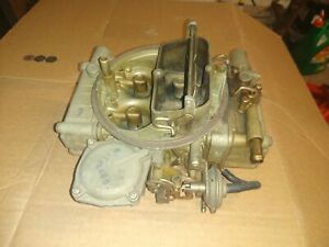 Holley 4749 3 Carburetor For Parts Or Rebuilding Mopar Type 440 383