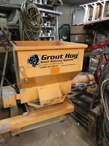 Grout Hog Grout Hydraulic Concrete Delivery Pump System