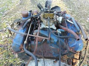 1967 428 Complete Engine Transmission And Rear End