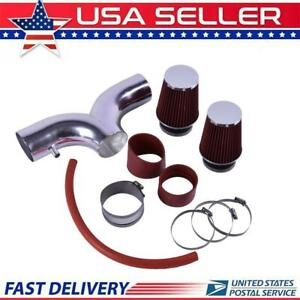 Cold Air Intake System Filter For 01 04 Corvette C5 5 7 V8 Dual Twin Ram Us